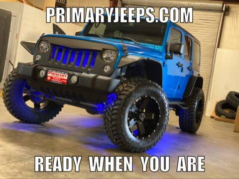 2015 Jeep Wrangler Unlimited for sale at Primary Auto Group Jeeps Hummers Tacomas in Dawsonville GA