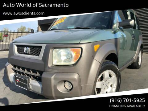 2004 Honda Element for sale at Auto World of Sacramento Stockton Blvd in Sacramento CA