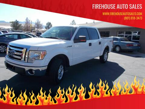2012 Ford F-150 for sale at Firehouse Auto Sales in Springville UT
