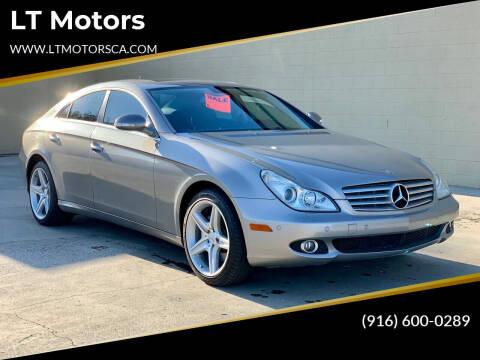 2007 Mercedes-Benz CLS for sale at LT Motors in Rancho Cordova CA