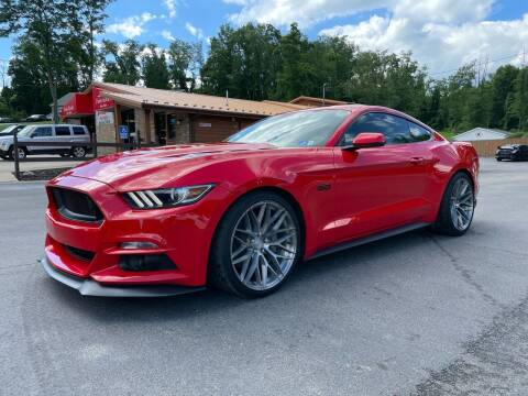 2015 Ford Mustang for sale at Twin Rocks Auto Sales LLC in Uniontown PA