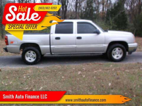 2006 Chevrolet Silverado 1500 for sale at Smith Auto Finance LLC in Grand Saline TX
