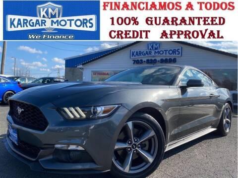 2017 Ford Mustang for sale at Kargar Motors of Manassas in Manassas VA