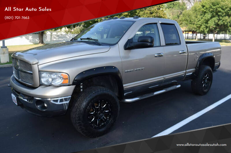 2003 Dodge Ram Pickup 3500 for sale at All Star Auto Sales in Pleasant Grove UT