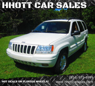 2000 Jeep Grand Cherokee for sale at HHOTT CAR SALES in Deerfield Beach FL