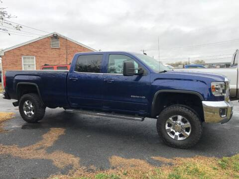 2015 GMC Sierra 2500HD for sale at DLUX Motorsports in Fredericksburg VA