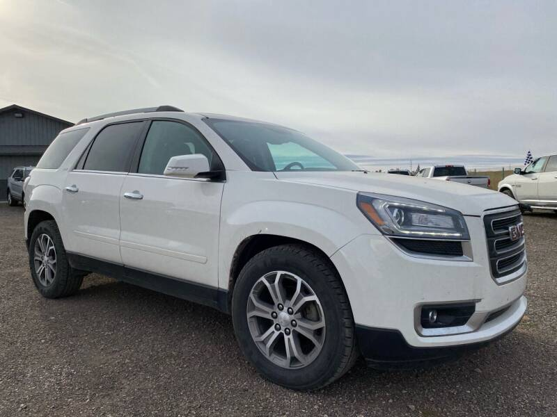 2013 GMC Acadia for sale at FAST LANE AUTOS in Spearfish SD