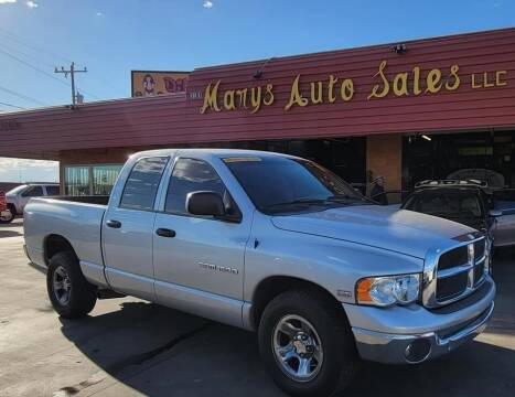 2003 Dodge Ram Pickup 1500 for sale at Marys Auto Sales in Phoenix AZ
