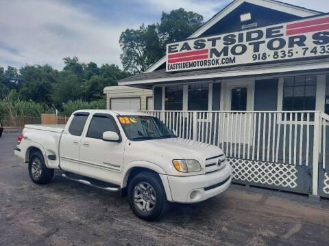 2003 Toyota Tundra for sale at EASTSIDE MOTORS in Tulsa OK