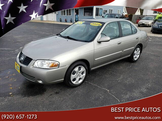 2004 Nissan Sentra for sale at Best Price Autos in Two Rivers WI