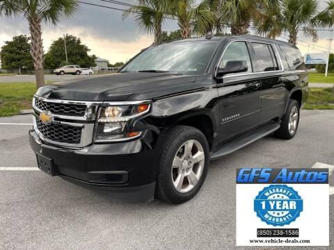 2016 Chevrolet Suburban for sale at Gulf Financial Solutions Inc DBA GFS Autos in Panama City Beach FL