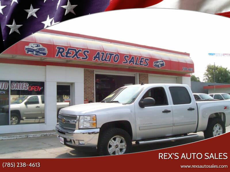 2013 Chevrolet Silverado 1500 for sale at Rex's Auto Sales in Junction City KS