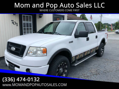 2007 Ford F-150 for sale at Mom and Pop Auto Sales LLC in Thomasville NC