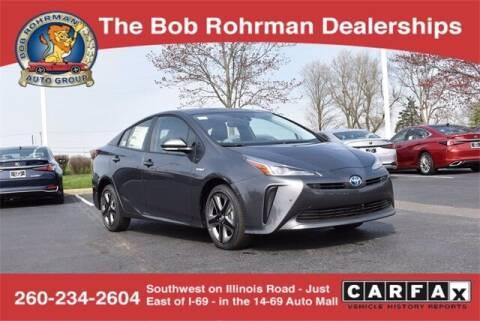 2021 Toyota Prius for sale at BOB ROHRMAN FORT WAYNE TOYOTA in Fort Wayne IN