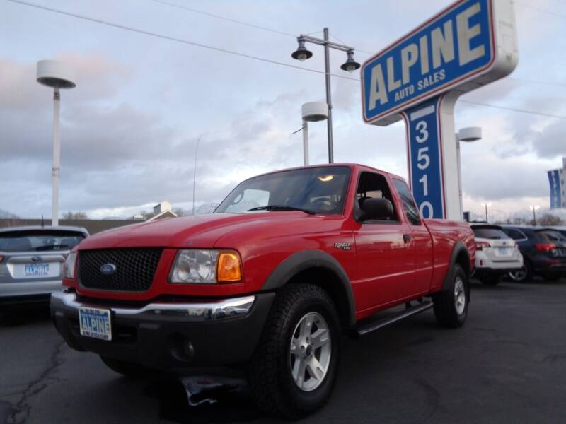 2003 Ford Ranger for sale at Alpine Auto Sales in Salt Lake City UT