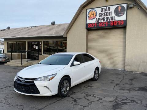 2017 Toyota Camry for sale at Utah Credit Approval Auto Sales in Murray UT