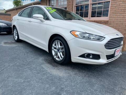 2013 Ford Fusion for sale at Wilkinson Used Cars in Milledgeville GA