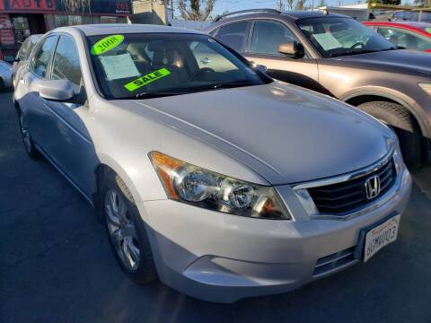 2008 Honda Accord for sale at MCHENRY AUTO SALES in Modesto CA