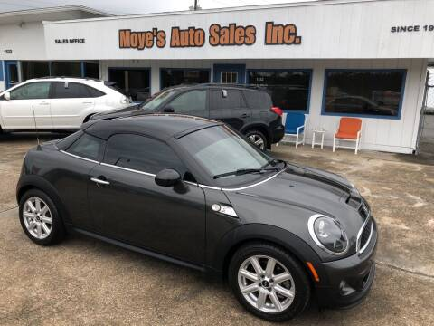 2013 MINI Coupe for sale at Moye's Auto Sales Inc. in Leesburg FL