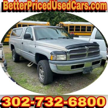 2000 Dodge Ram Pickup 1500 for sale at Better Priced Used Cars in Frankford DE