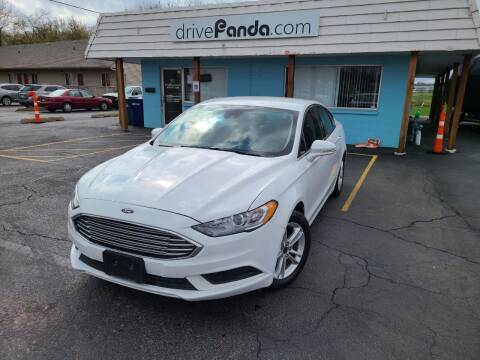 2018 Ford Fusion for sale at DrivePanda.com in Dekalb IL