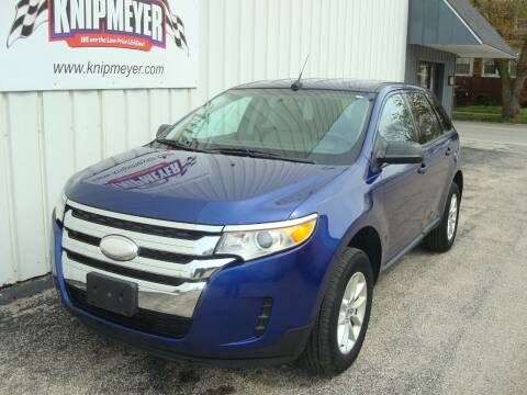 2013 Ford Edge for sale at Team Knipmeyer in Beardstown IL