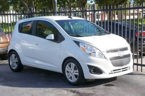 2015 Chevrolet Spark for sale at Meru Motors in Hollywood FL