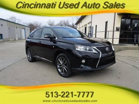 2015 Lexus RX 350 for sale at Cincinnati Used Auto Sales in Cincinnati OH