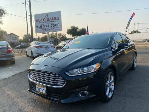 2014 Ford Fusion for sale at A1 Auto Sales in Sacramento CA