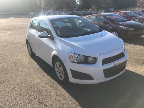 2015 Chevrolet Sonic for sale at Certified Motors LLC in Mableton GA