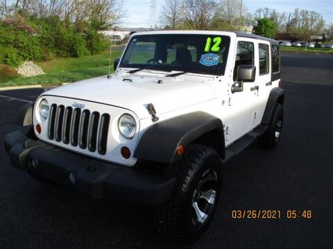 2012 Jeep Wrangler Unlimited for sale at Euro Asian Cars in Knoxville TN