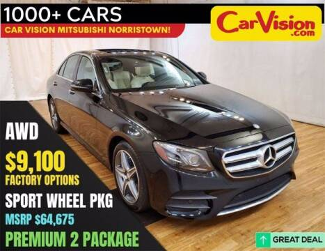 2017 Mercedes-Benz E-Class for sale at Car Vision Buying Center in Norristown PA