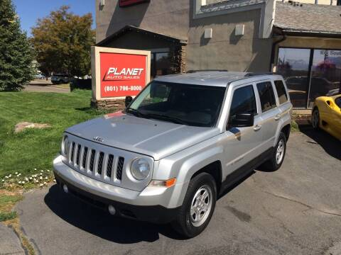 2012 Jeep Patriot for sale at PLANET AUTO SALES in Lindon UT