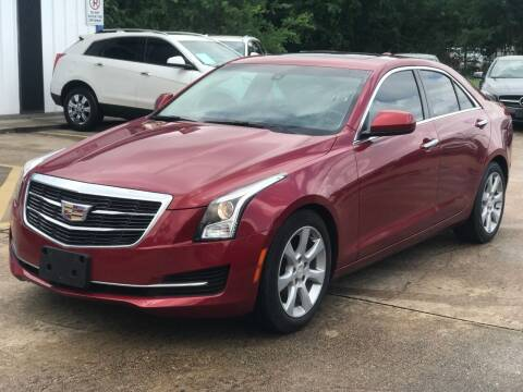 2016 Cadillac ATS for sale at Discount Auto Company in Houston TX