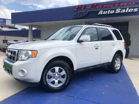 2011 Ford Escape for sale at El Camino Auto Sales Gainesville in Gainesville GA