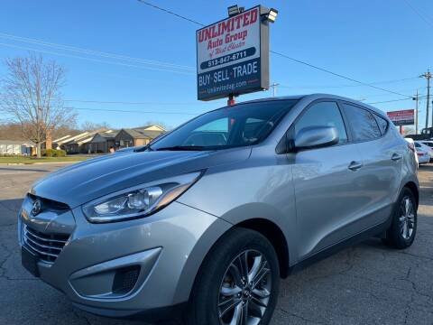 2015 Hyundai Tucson for sale at Unlimited Auto Group in West Chester OH