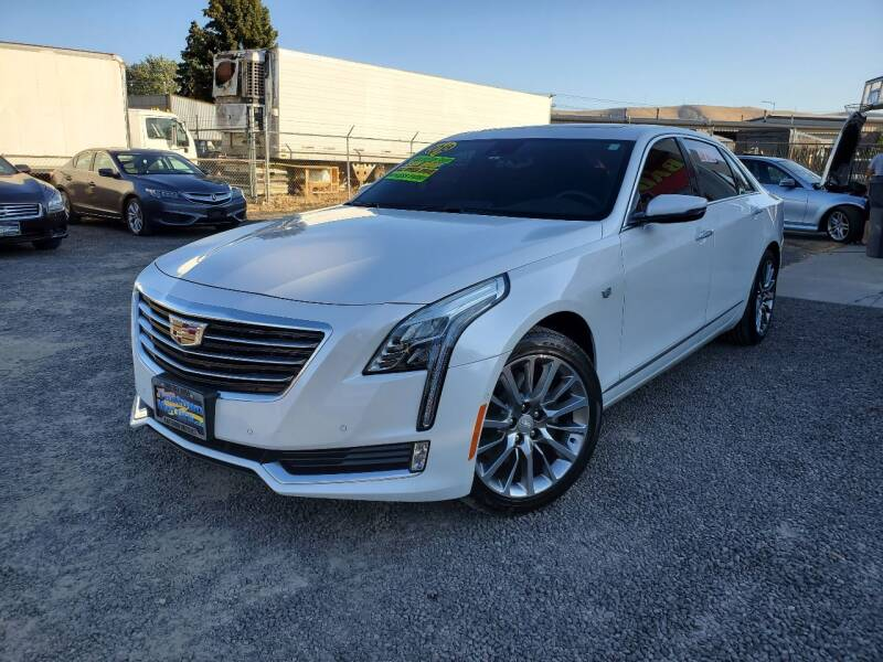 2018 Cadillac CT6 for sale at Yaktown Motors in Union Gap WA
