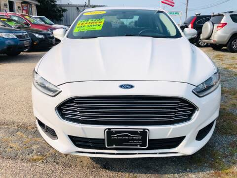 2014 Ford Fusion for sale at Cape Cod Cars & Trucks in Hyannis MA