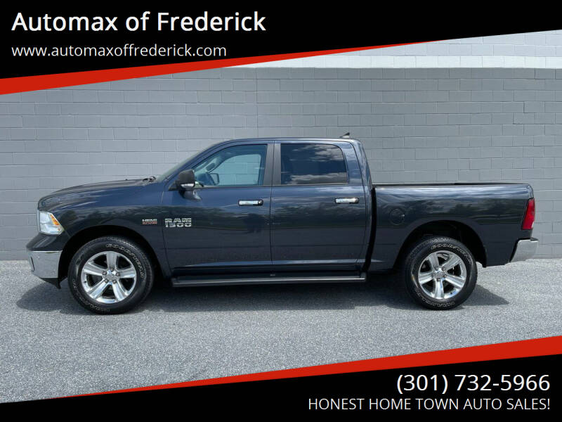 2016 RAM Ram Pickup 1500 for sale at Automax of Frederick in Frederick MD
