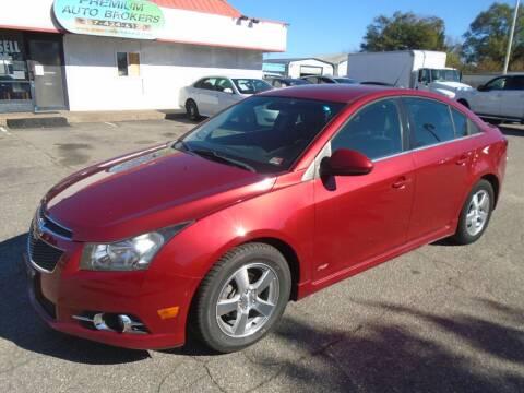 2013 Chevrolet Cruze for sale at Premium Auto Brokers in Virginia Beach VA