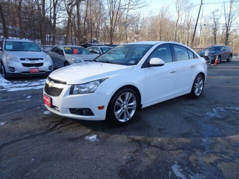 2012 Chevrolet Cruze for sale at East Coast Motors in Lake Hopatcong NJ