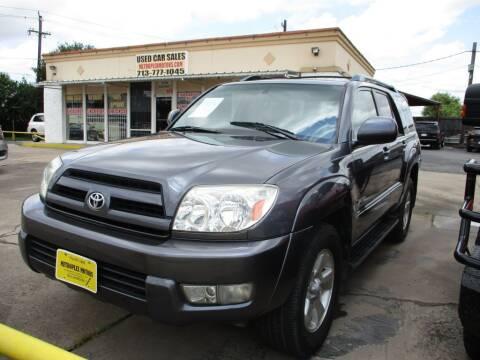 2005 Toyota 4Runner for sale at Metroplex Motors Inc. in Houston TX