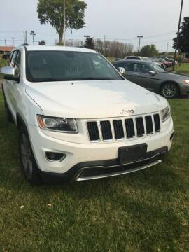 2014 Jeep Grand Cherokee for sale at Hamburg Motors in Hamburg NY