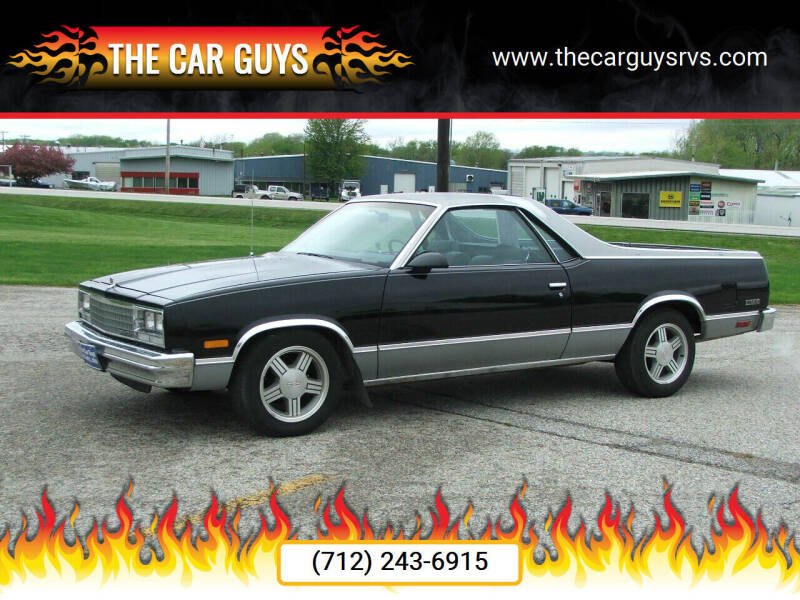 1986 Chevrolet El Camino for sale at The Car Guys in Atlantic IA