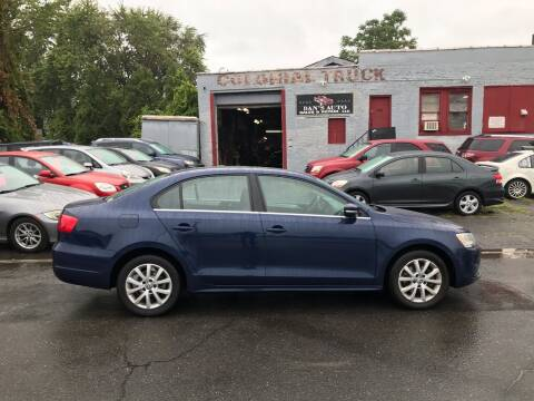 2013 Volkswagen Jetta for sale at Dan's Auto Sales and Repair LLC in East Hartford CT