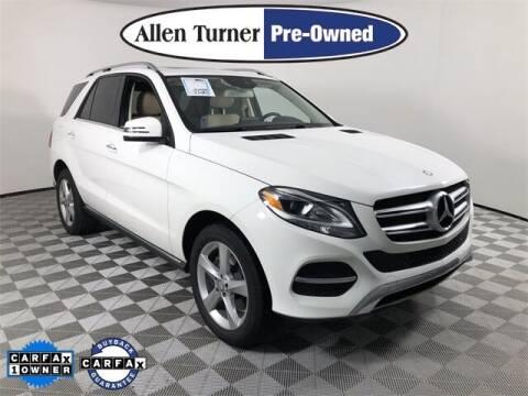 2017 Mercedes-Benz GLE for sale at Allen Turner Hyundai in Pensacola FL