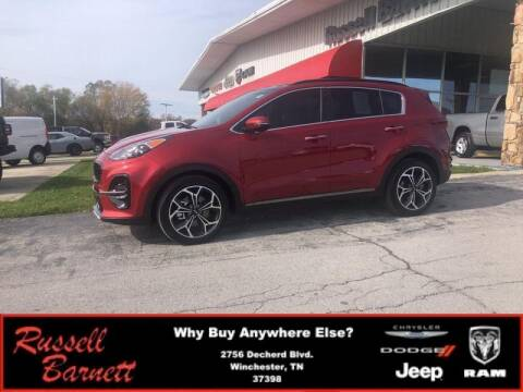 2020 Kia Sportage for sale at Russell Barnett Chrysler Dodge Jeep Ram in Winchester TN
