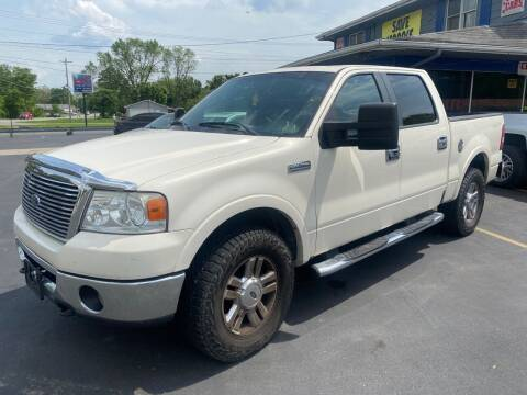 2007 Ford F-150 for sale at Wise Investments Auto Sales in Sellersburg IN