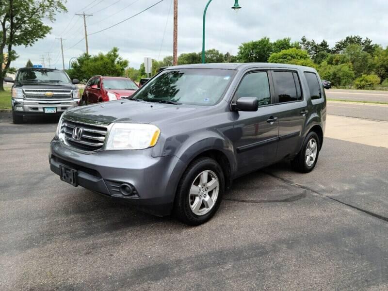 2012 Honda Pilot for sale at Premier Motors LLC in Crystal MN