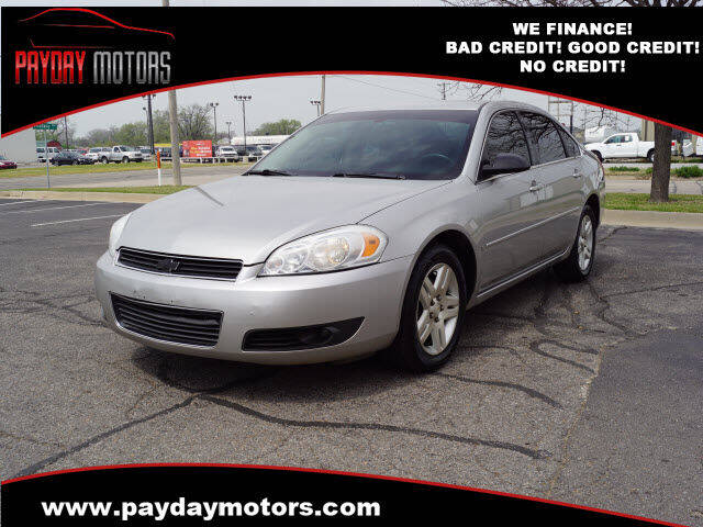 2007 Chevrolet Impala for sale at Payday Motors in Wichita And Topeka KS